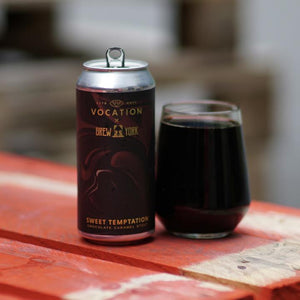 Sweet Temptation - Vocation Brewery X Brw York - Chocolate Caramel Stout, 6%, 440ml Can
