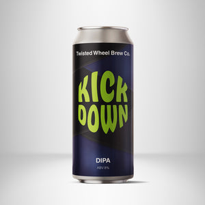 Kick Down - Twisted Wheel - DIPA, 8%, 440ml Can