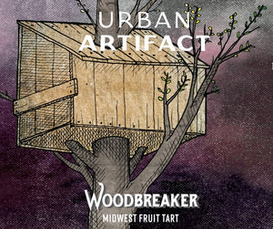 Woodbreaker - Urban Artifact - Black Cherry Lemonade Midwest Fruit Tart, 355ml