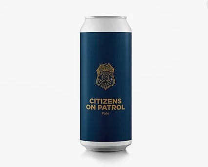 Citizens On Patrol - Pomona Island - DDH Pale Ale, 5.3%, 440ml Can