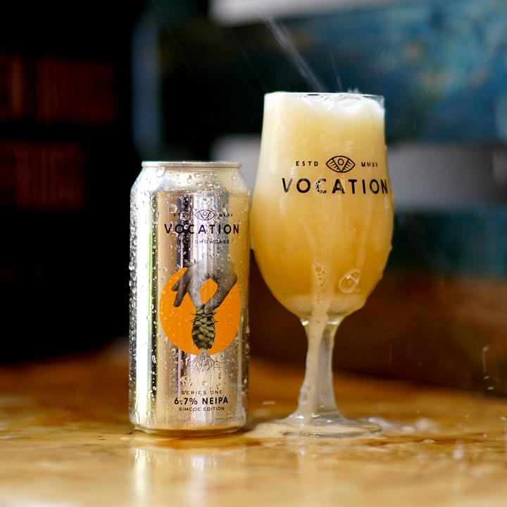 Single Hop Series Simcoe Edition - Vocation Brewery - Simcoe NEIPA, 6.7%, 440ml Can