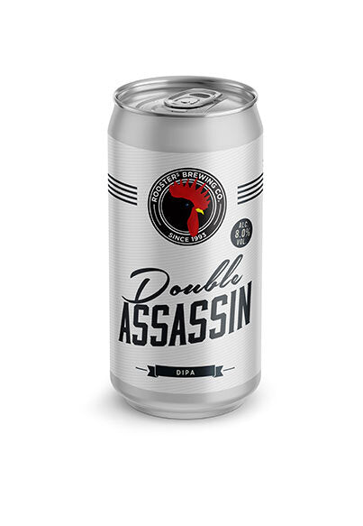 Double Assassin - Roosters Brewery - DIPA, 8%, 440ml
