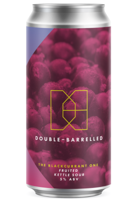 The Blackcurrant One - Double Barrelled - Fruited Kettle Sour, 5%, 440ml Can