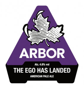 The Ego Has Landed - Arbor Ales - American Pale Ale, 4.8%, 568ml