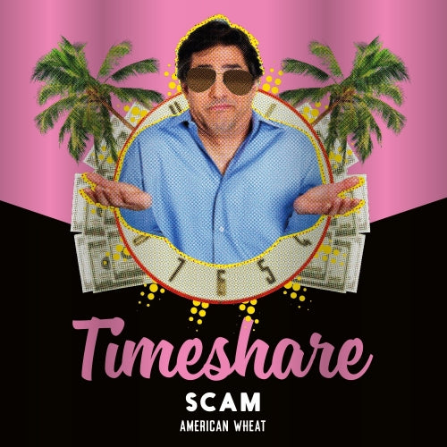 Timeshare Scam - Legitimate Industries - American Wheat Ale, 4.5%, 330ml
