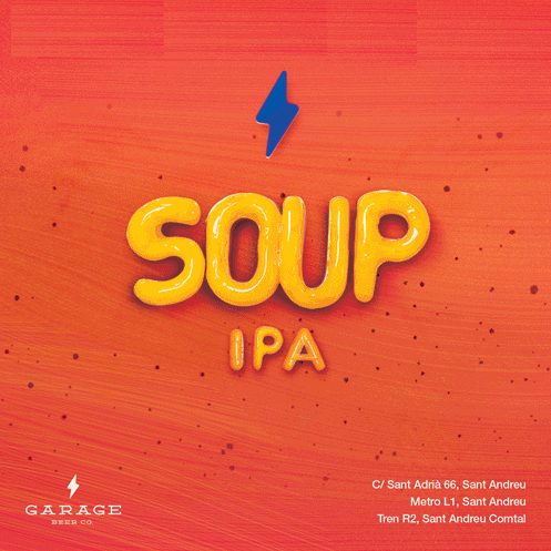 Soup IPA - Garage Beer Co - IPA, 6%, 440ml Can