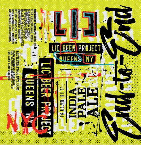 End To End - LIC Beer Project - IPA, 7%, 473ml