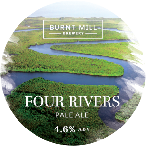 Four Rivers - Burnt Mill - Pale Ale, 4.6%, 440ml