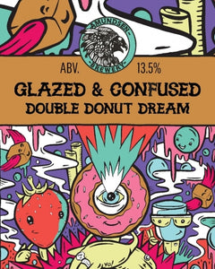 Glazed & Confused - Amundsen Brewery - Double Donut Dream Imperial Stout, 13.5%, 440ml