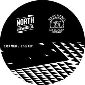 XXXK Mild - North Brewing Co X Brouwerij De Molen - Imperial Mild Ale, 8.5%, 330ml