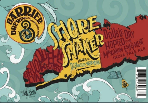 Shore Shaker - Barrier Brewing Co - Sesion IPA, 4.2%, 473ml Can