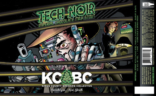 Tech-Noir - KCBC - Imperial Chocolate Milk Stout, 12%, 473ml