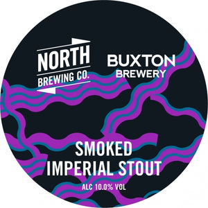 Smoked Imperial Stout - North Brewing Co X Buxton Brewery - Smoked Imperial Stout, 10%, 330ml