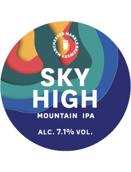 Sky High - Marble Beers - Mountain IPA, 7.1%, 330ml Can