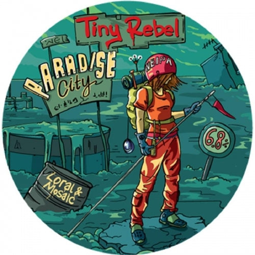 Paradise City - Tiny Rebel - Loral & Mosaic NEIPA, 6.8%, 330ml