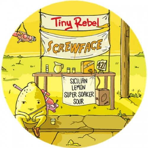 Screwface - Tiny Rebel - Sicilian Lemon Super Soaker Sour, 4.2%, 330ml