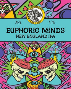 Euphoric Minds - Amundsen Brewery - New England IPA, 7%, 440ml