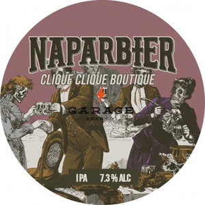 Clique Clique Boutique - Naparbier X Garage Beer Co - IPA, 7.3%, 440ml