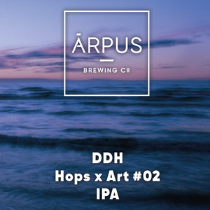 Hops x Art #02 - Arpus Brewing Co - DDH IPA, 5.5%, 440ml Can