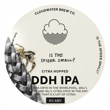Load image into Gallery viewer, Is The Spider Small? - Cloudwater - DDH IPA, 6%, 440ml Can
