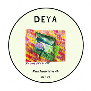 I'm Going Back To 505 - Deya Brewing - Mixed Fermentation Ale, 5.7%, 375ml Bottles