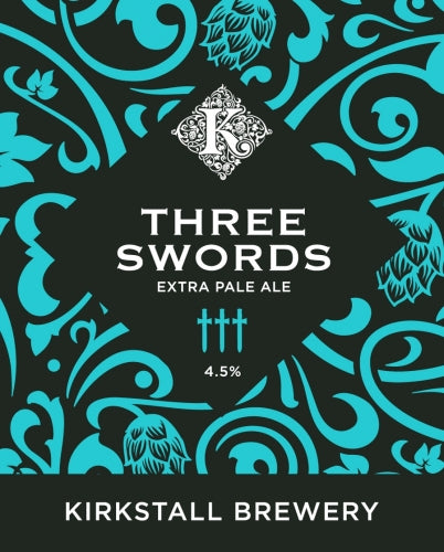 Three Swords - Kirkstall Brewery - Extra Pale Ale, 4.5%, 500ml