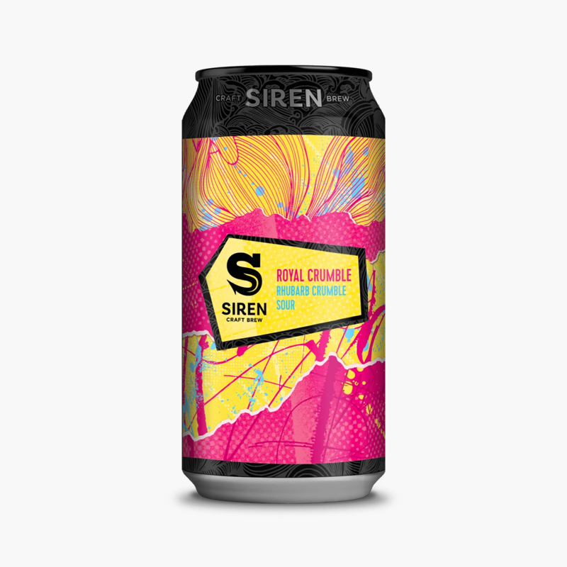Royal Crumble - Siren Craft Brew - Rhubarb Crumble Sour, 4.2%, 440ml