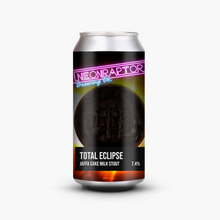 Load image into Gallery viewer, Total Eclipse - Neon Raptor - Jaffa Cake Milk Stout, 7.4%, 440ml