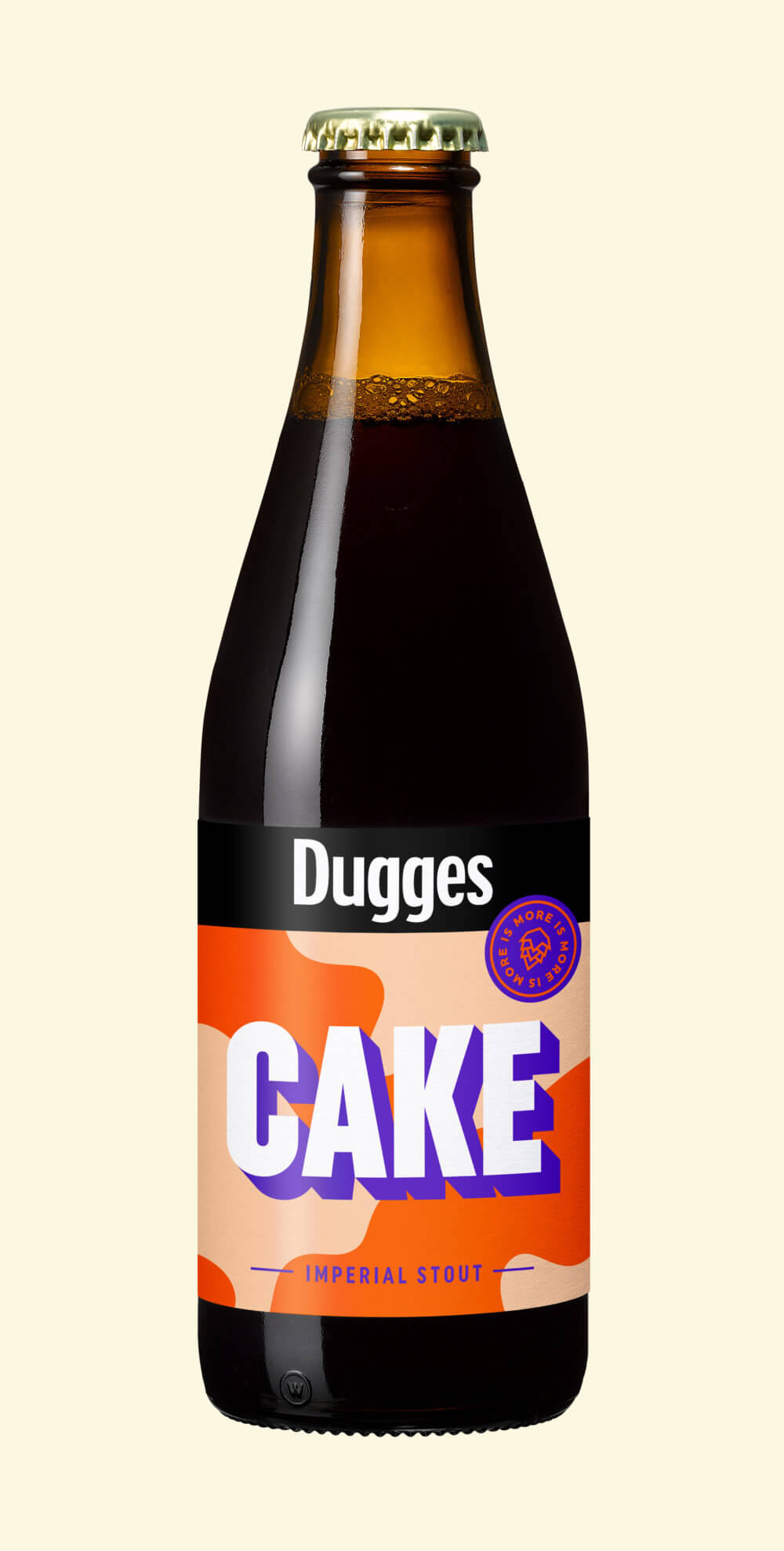 Cake - Dugges Bryggeri - Cardamon, Vanilla and Almond Imperial Stout, 10%, 330ml Bottle
