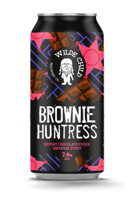 Brownie Huntress - Wilde Childe Brewing Co - Export Chocolate Fudge Brownie Stout, 7.4%, 440ml