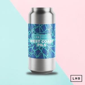 West Coast Pils - Left Handed Giant Brewpub - West Coast Pils, 5%, 440ml Can
