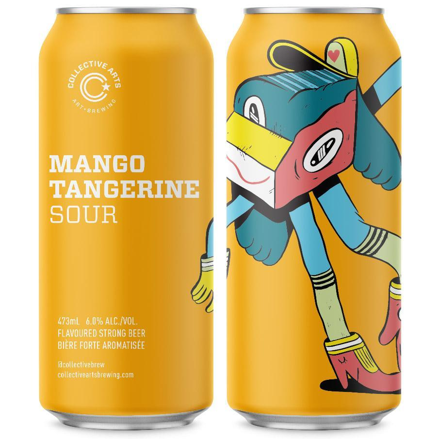 Mango Tangerine  Sour - Collective Arts - Mango Tangerine  Sour, 5.6%, 473ml Can