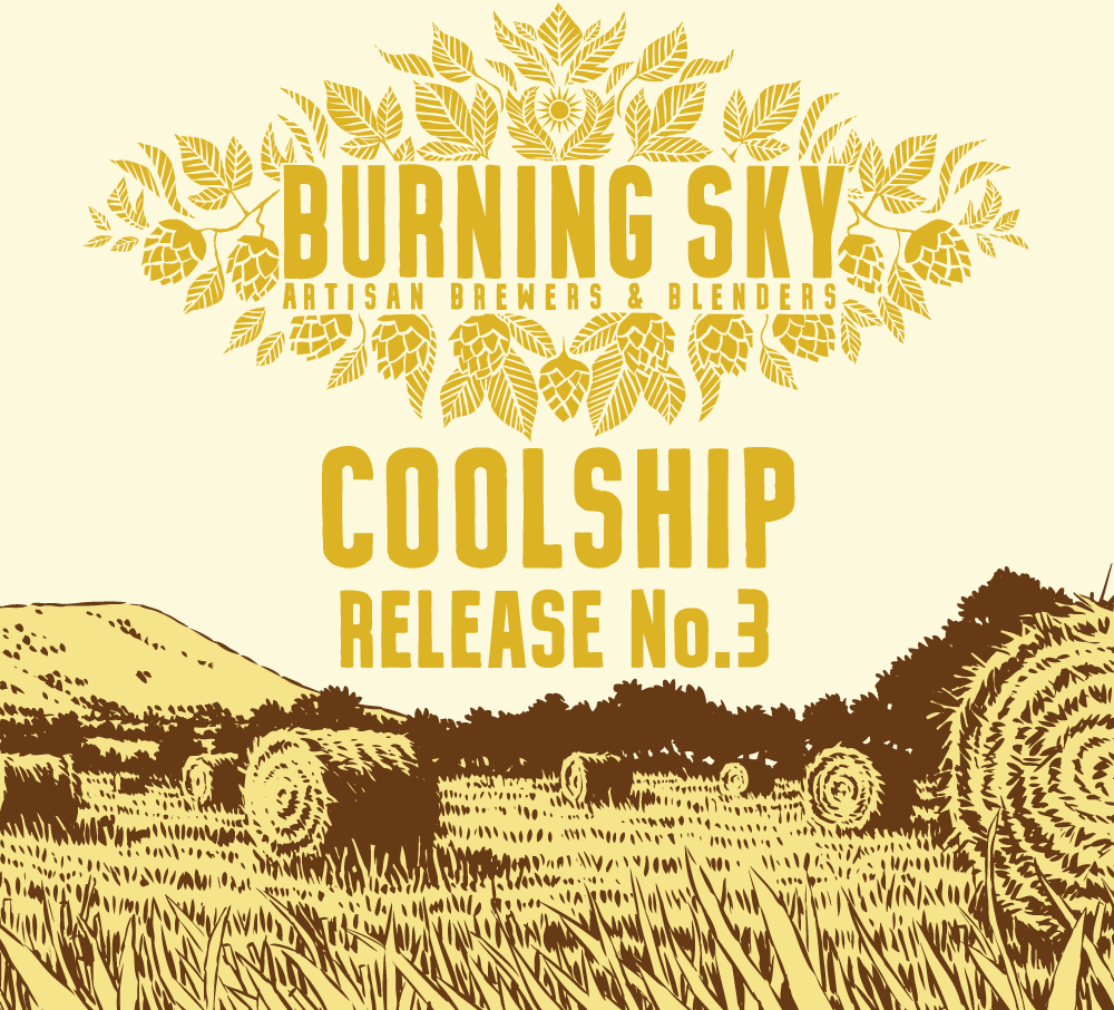 Coolship Release No.3 - Burning Sky - Coolship Beer, 7.2%, 750ml Bottle