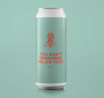 You Don't Remember Me, Do You? - Pomona Island - DIPA, 8.5%, 440ml Can