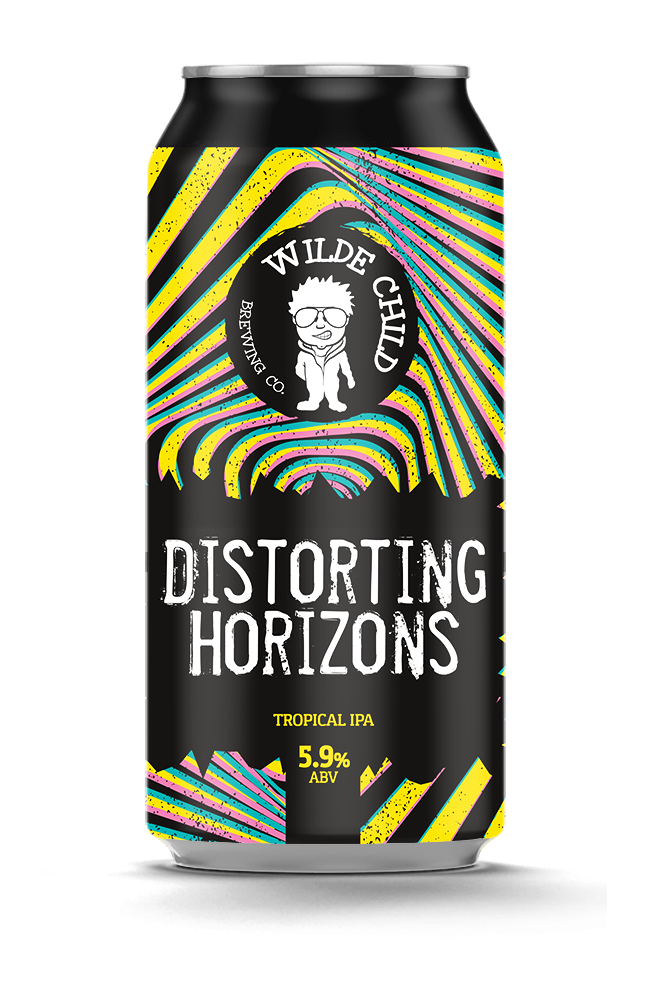 Distorting Horizons - Wilde Childe Brewing Co - Tropical IPA, 5.9%, 440ml Can