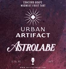 Astrolabe - Urban Artifacts - Concord Grape Midwest Fruit Sour, 8.2%, 355ml