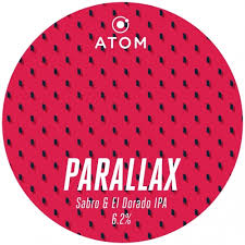 Parallax - Atom Brewing Co - Sabro & El Dorado IPA, 6.2%, 440ml