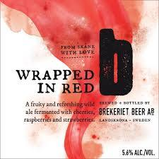 Wrapped In Red - Brekeriet - American Wild ale with Cherries, Raspberries & Strawberries, 5.6%, 330ml Bottle