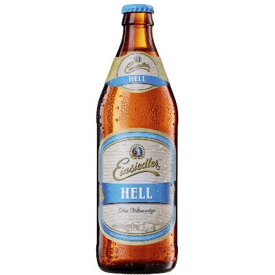 Hell - Privatbrauerei Einsiedler Brauhaus - Helles, 5.2%, 500ml Bottle