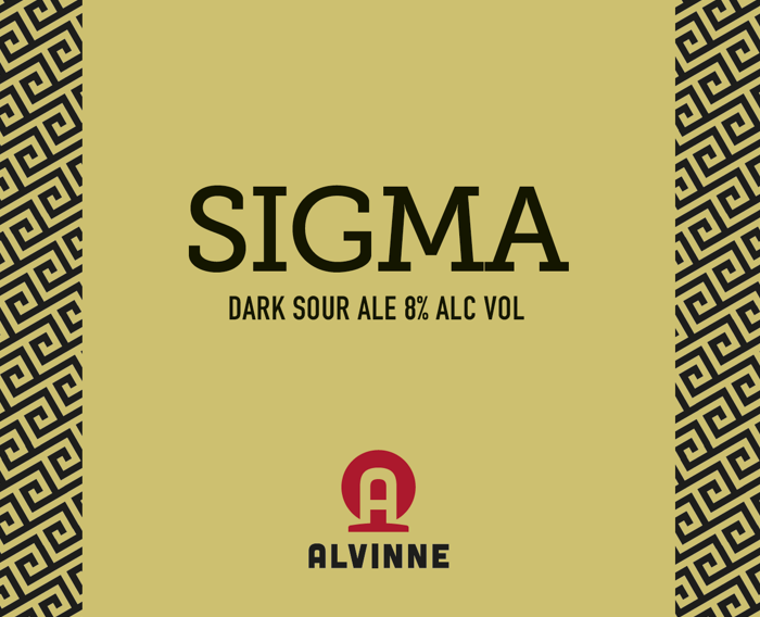 Sigma Wild Forest - Brouwerij Alvinne - Dark Sour Ale, 8%, 330ml Bottle