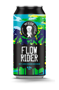 Flow Rider - Wilde Childe Brewing Co - Key Lime Cheesecake Sour, 4.9%, 440ml
