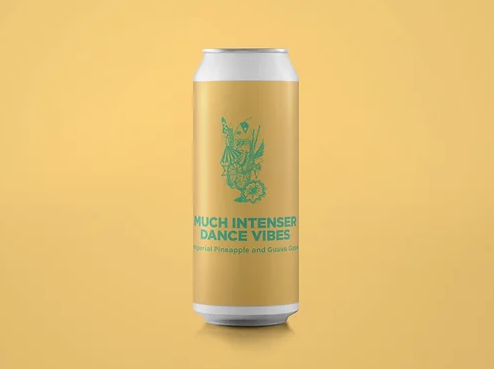 Much Intenser Dance Vibes - Pomona Island - Imperial Pineapple & Guava Gose, 10%, 440ml Can