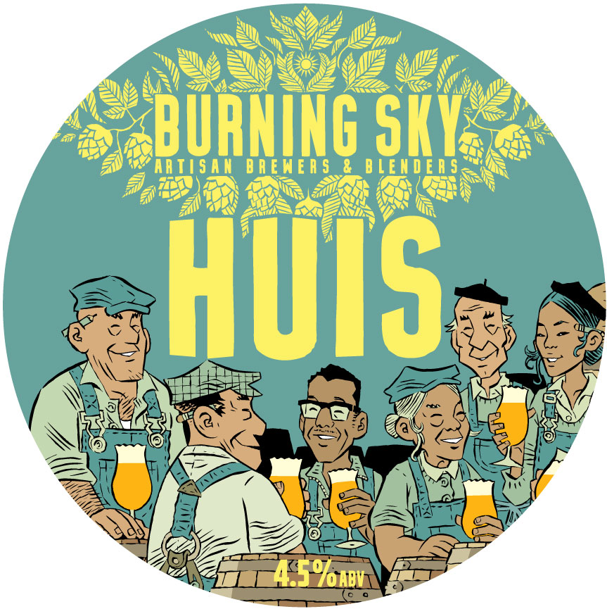 Huis - Burning Sky - Belgian Pale, 4.5%, 440ml