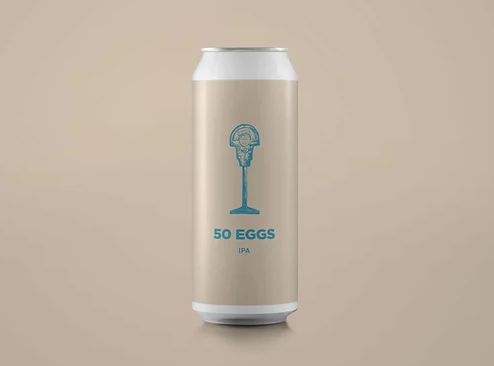 50 Eggs - Pomona Island - DDH IPA, 6.8%, 440ml Can