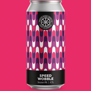 Speed Wobble - Twisted Wheel - Session IPA, 4.7%, 440ml Can