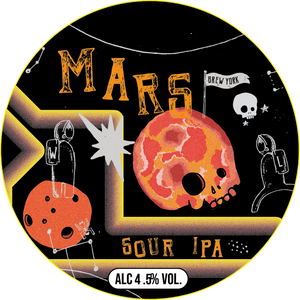 Mars - Beavertown X Brew York - Sour IPA, 4.5%, 330ml