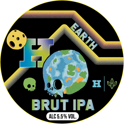 Earth - Beavertown X Harbour Brewing - Brut IPA, 5.5%, 330ml