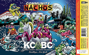 Community Nachos - KCBC - Hazy IPA, 7.2%, 473ml