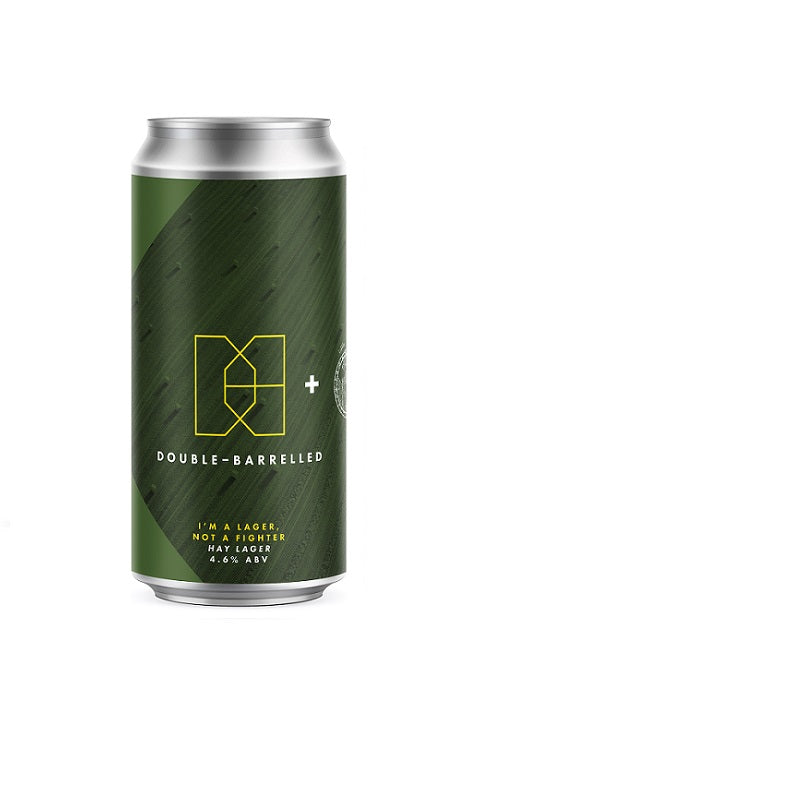 I'm A Lager, Not A Fighter - Double Barrelled X Little Earth Project - Hay Lager, 4.6%, 440ml