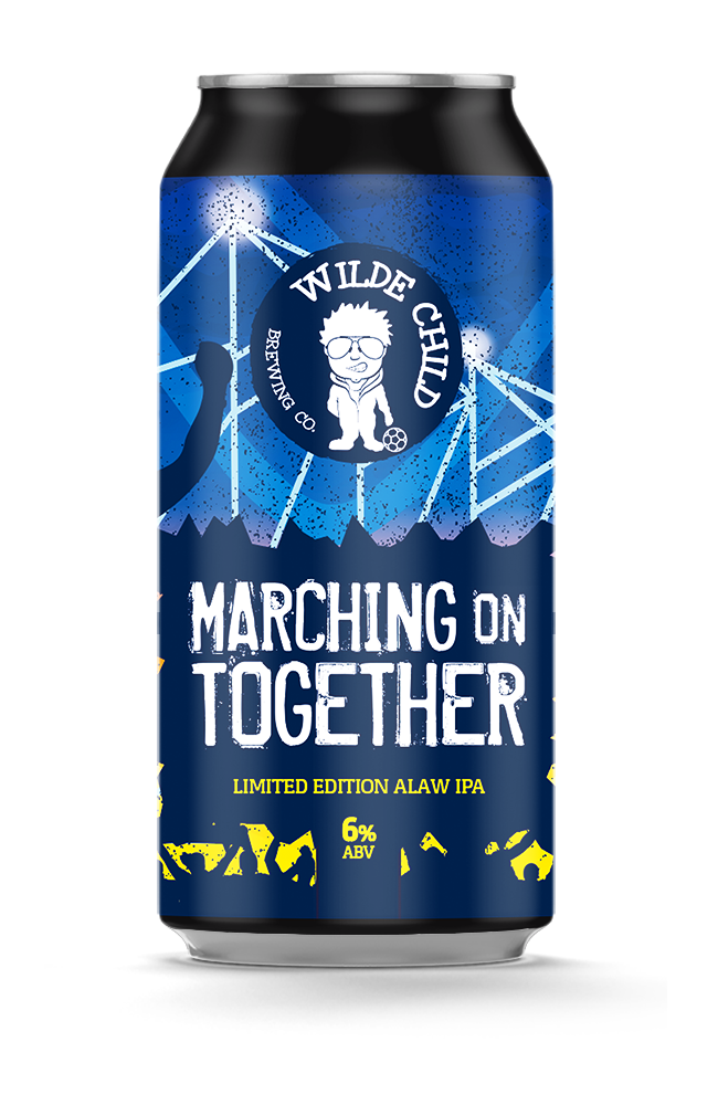 Marching On Together - Wilde Childe Brewing Co - Limited Edition ALAW IPA, 6%, 440ml Can